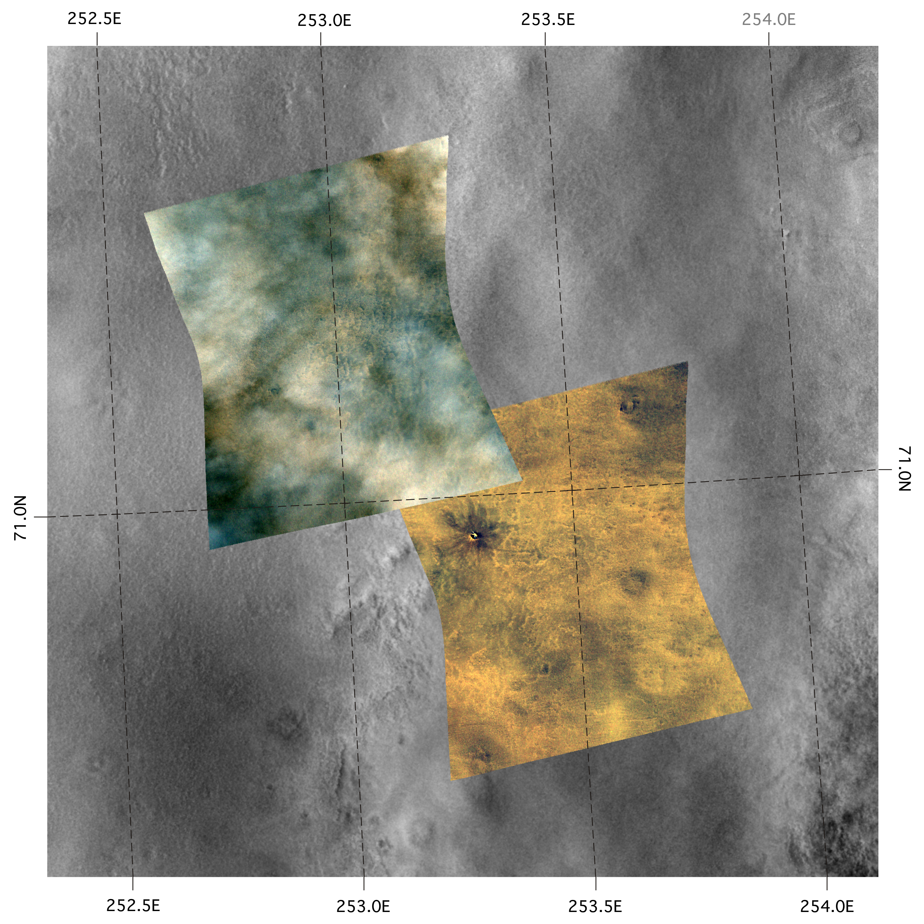 NASA Mars Reconnaissance Orbiter CRISM Imagery: A Change ...