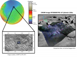 Hydrated Minerals of Cydonia Colles
