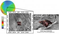Fe/Mg phyllosilicates near Marwth Vallis