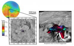 Prehnite and Chlorite near Arnus Vallis