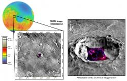 Zeolites and Opals south of Baldet Crater